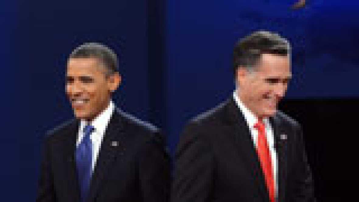 El moderado Mitt Romney cosecha su segunda victoria en las elecciones republicanas. Con un 39% de los votos se ha proclamado vencedor en New Hampshire, por delante de Ron Paul, Jon Huntsman y Ric Santorum.