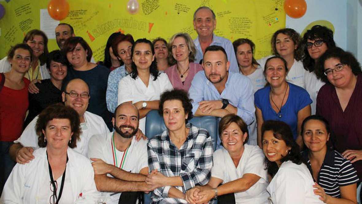 Boletines RNE - Teresa Romero abandonará mañana el Hospital Carlos III - 04/11/14 - Escuchar ahora