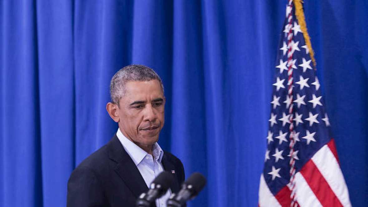 Radio 5 Actualidad - Obama contra las cuerdas - 05/11/14 - Escuchar ahora