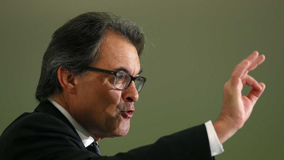 Diario de las 2 - Mas asegura que enviará una carta a Rajoy - Escuchar ahora