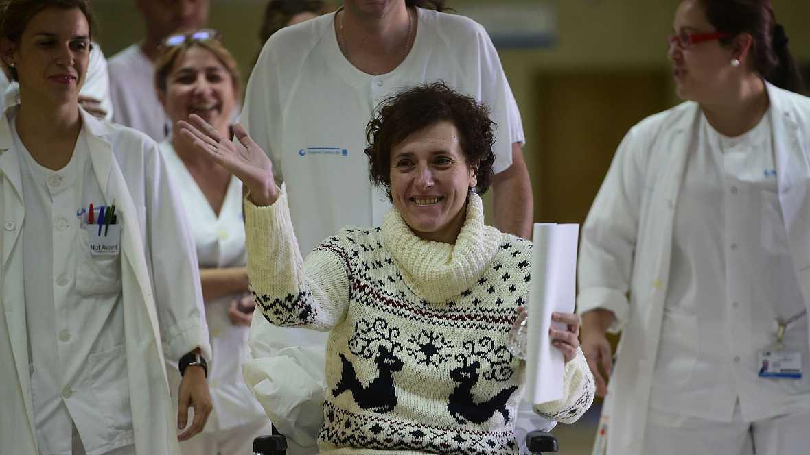 Diario de las 2 - Teresa Romero sale del hospital dando las gracias -Escuchar ahora