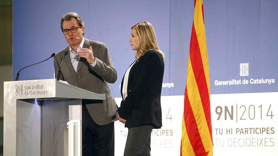 """Las mañanas de RNE - Cataluña, el día despues entre """"el éxito y el fracaso"""" - Escuchar ahora"""