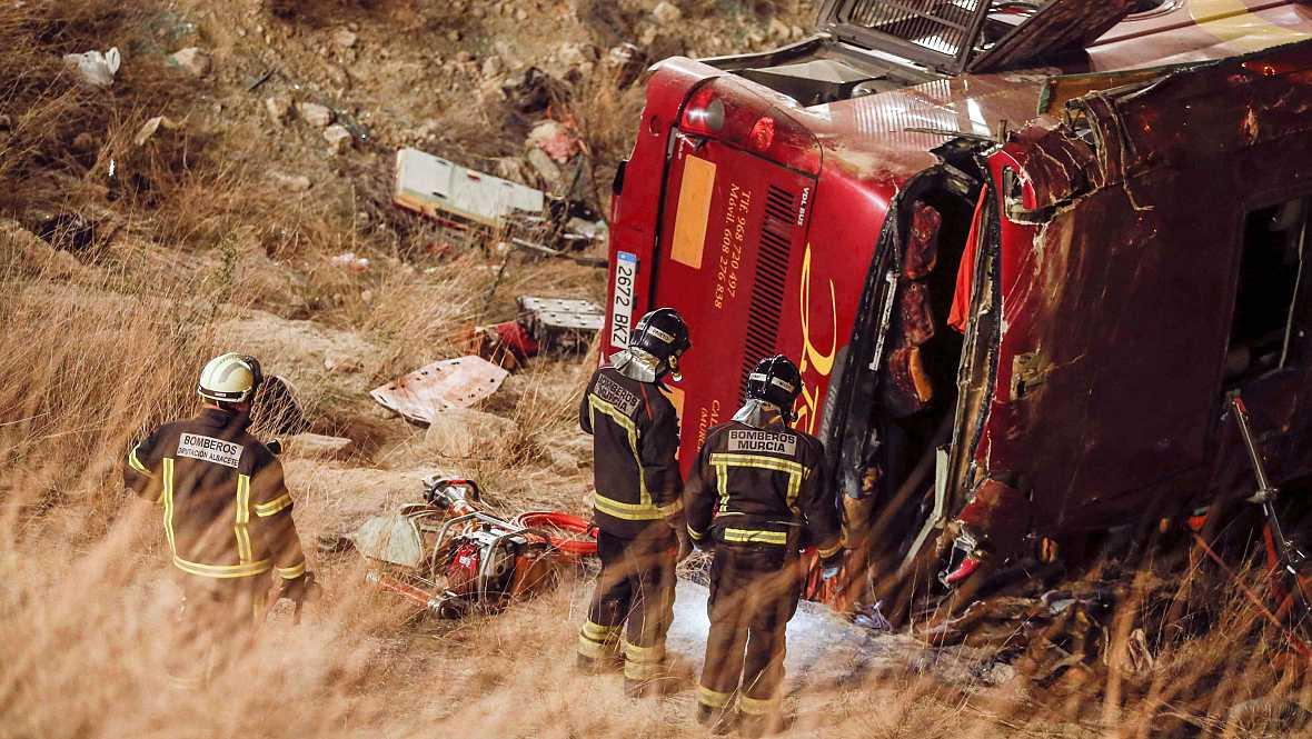 Diario de las 2 - La investigación del accidente de Cieza - Escuchar ahora