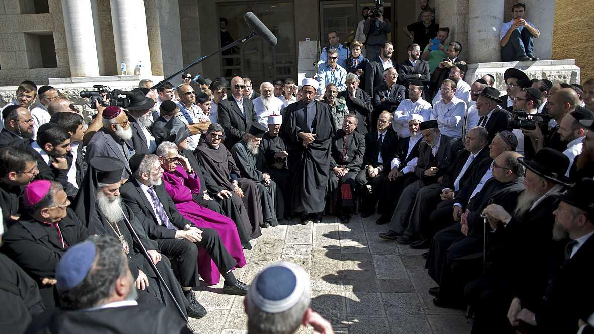 Las mañanas de RNE - Opiniones sobre el reconocimiento del Congreso al Estado Palestino - Escuchar ahora