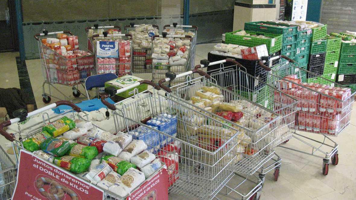 Boletines RNE - Campaña de recogida para el Banco de Alimentos - 28/11/14 - Escuchar ahora
