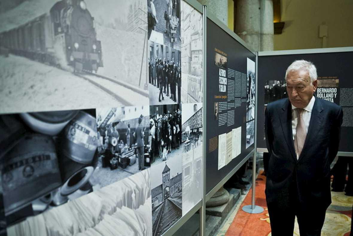 Entre paréntesis - 'Más allá del deber', la muestra de los héroes españoles que salvaron a miles de judíos del Holocausto - Escuchar ahora