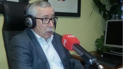 """Las ma�anas de RNE - Toxo: El acuerdo sobre la ayuda a parados de larga duraci�n """"no tiene peros"""" - Escuchar ahora"""