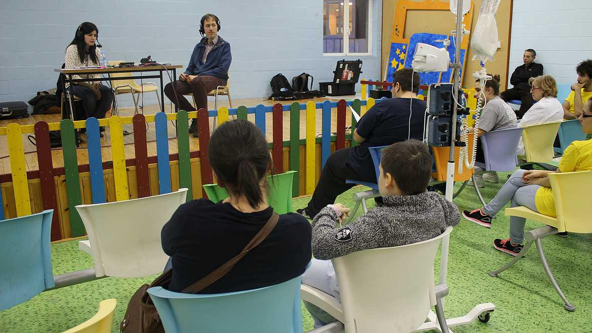 La estación azul de los niños - Desde el Hospital La Paz - Escuchar ahora