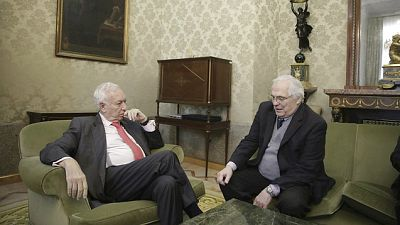 Entre paréntesis - Margallo se reúne con el enviado especial de la ONU para el Sáhara Occidental - Escuchar ahora