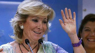 Boletines RNE - Aguirre dice que si es alcaldesa no seguirá presidiendo el PP en Madrid - 09/03/15 - Escuchar ahora
