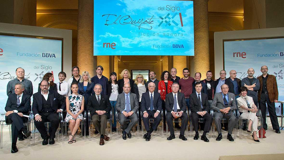 Diario de las 2 - RNE y la Fundación BBVA han presentado 'El Quijote del siglo XXI' - Escuchar ahora