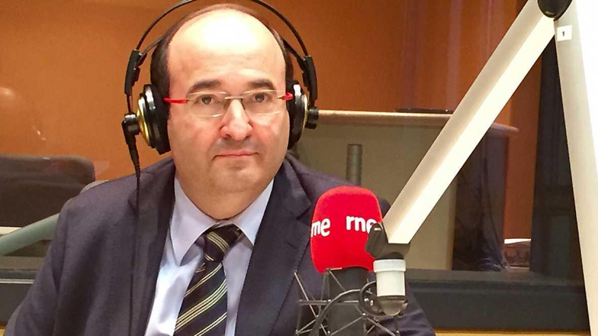 """24 horas - Miquel Iceta: """"No creo que haya menos independentistas que hace cuatro meses, pero sí creo que hace cuatro meses que había más confianza en que se iba a conseguir la independencia"""" - Escuchar ahora"""
