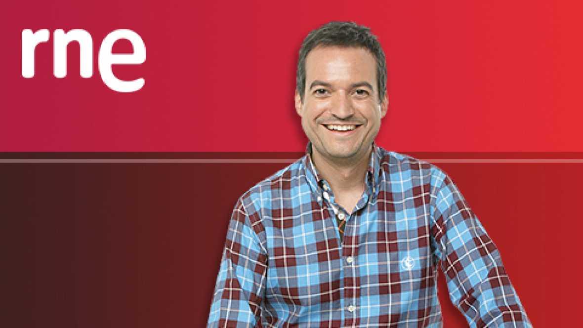 Nuestro cómplice Jorge García Palomo, especialista en humor, se cuela en el camerino del protagonista de 'Si la cosa funciona'. - Escuchar ahora