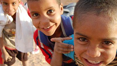 5.000 menores saharauis pasan sus 'Vacaciones en paz' en España - Escuchar ahora