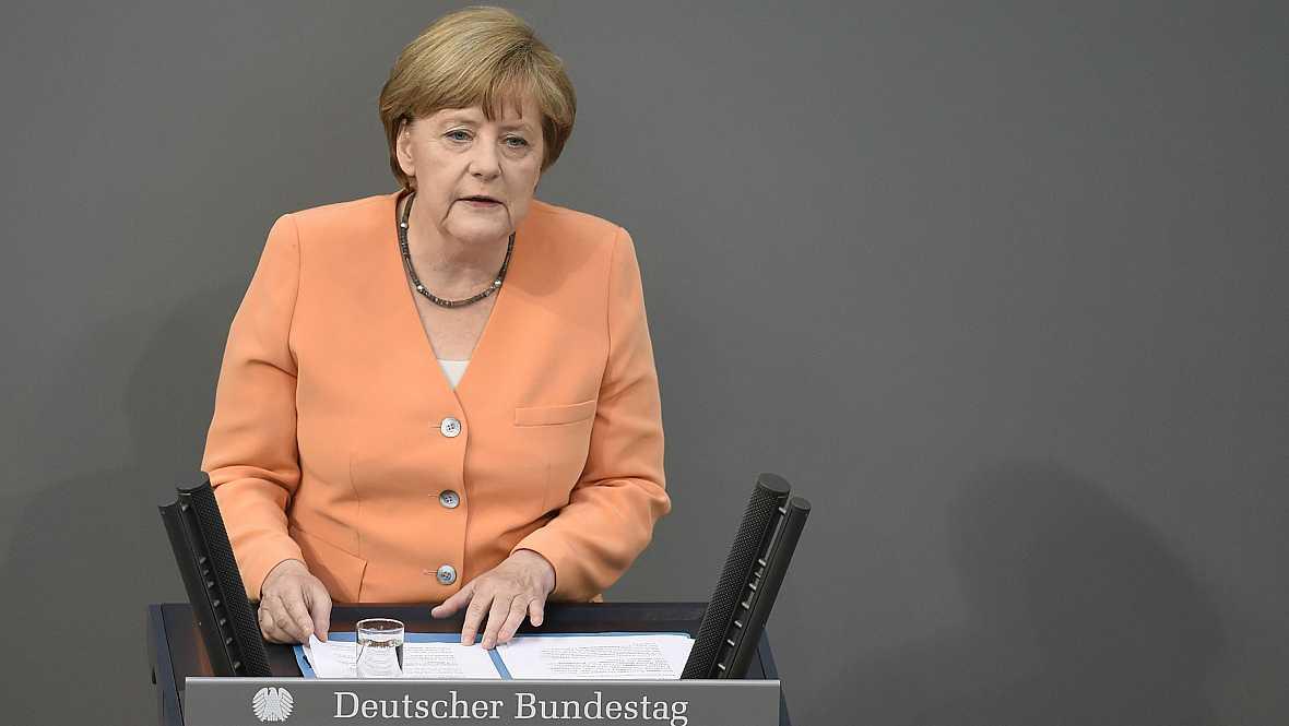"""Diario de las 2 - Merkel: """"La crisis griega no pone en juego el futuro de Europa"""" - Escuchar ahora"""