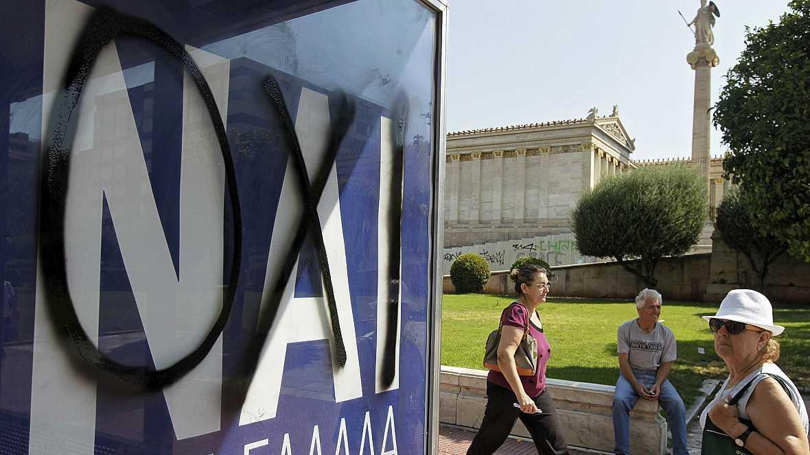 Diario de las 2 - Empacte técnico en las encuestas del referéndum griego - Escuchar ahora