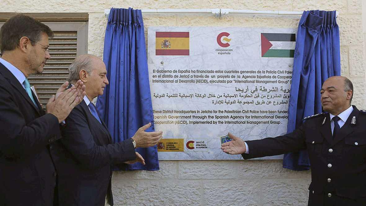 Visita oficial a Palestina de dos ministros españoles - Escuchar ahora
