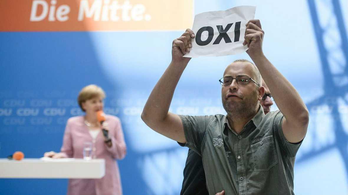 """Schäubler: """"No dejaremos en la estacada a los griegos"""" - Escuchar ahora"""