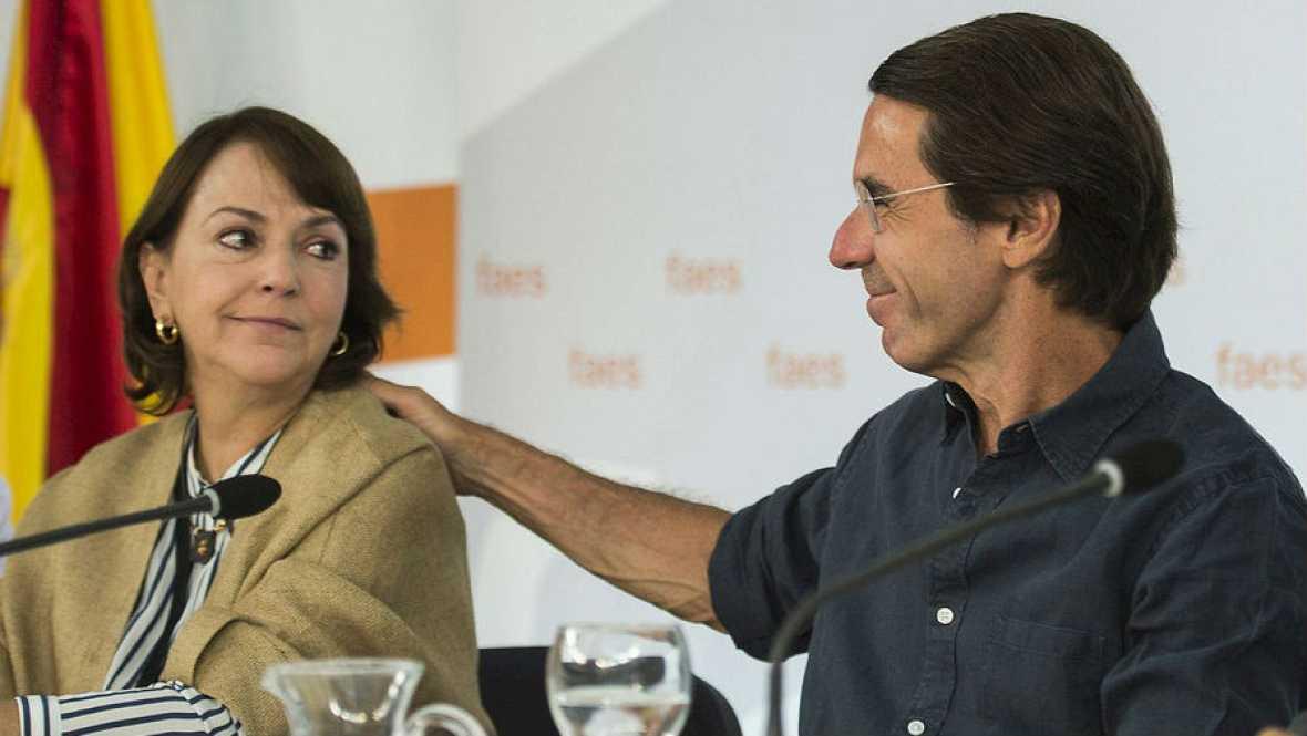 Aznar ironizá sobre declaraciones de Varufakis - Escuchar ahora