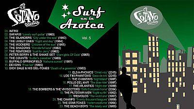 El sótano - Surf en la azotea Vol.5 - 15/07/15 - escuchar ahora