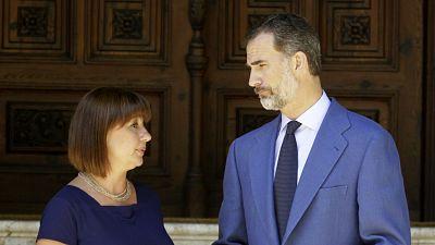 Diario de las 2 - Primeras audiencias del rey en Baleares - Escuchar ahora