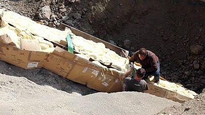 Reportajes Emisoras - Lleida - Paleontólogos restauran un dinosaurio del yacimiento del Pirineo de Lleida - Escuchar ahora