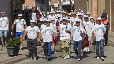 España vuelta y vuelta - La marcha blanca reclama una solución a la caída del precio de la leche - Escuchar ahora