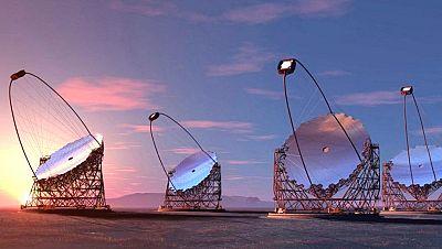 Marca Espa�a - El mayor telescopio del mundo de rayos gamma en la isla de La Palma - 04/09/15 - Escuchar ahora