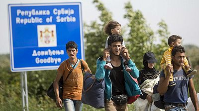 Boletines RNE - Crecen las solicitudes de asilo de refugiados un 85% en la UE - Escuchar ahora