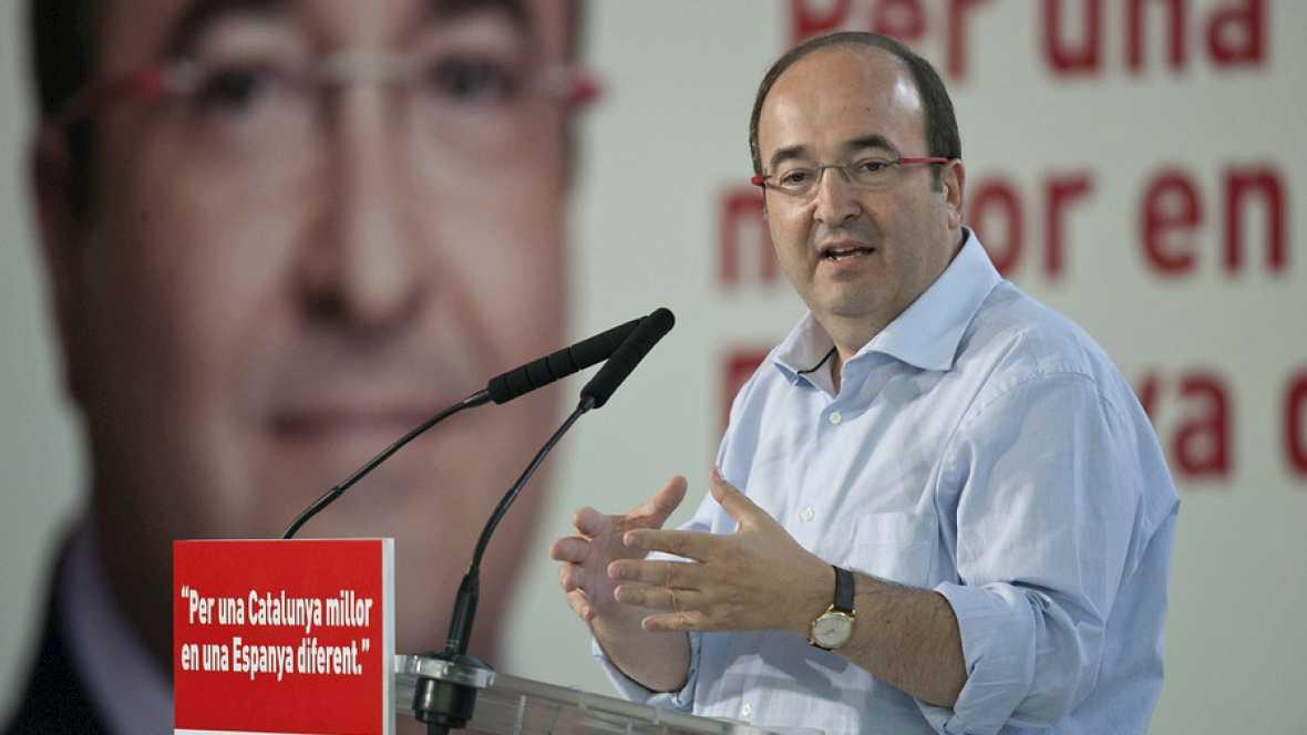 """Las mañanas de RNE - Miquel Iceta: """"Hay que sustituir a Artur Mas porque es el que nos ha metido en este lío"""" - Escuchar ahroa"""
