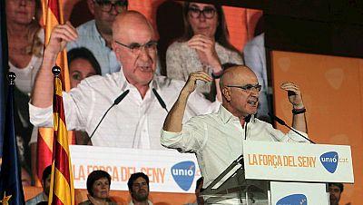 """Radio 5 Actualidad - Elecciones catalanas 2015 - Montserrat Surroca, Unió: """"Nuestro objetivo es hacer oir la voz de Unió en el Parlament"""" - Escuchar ahora"""