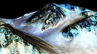 Entre paréntesis - La importancia del hallazgo de agua líquida en Marte - Escuchar ahora