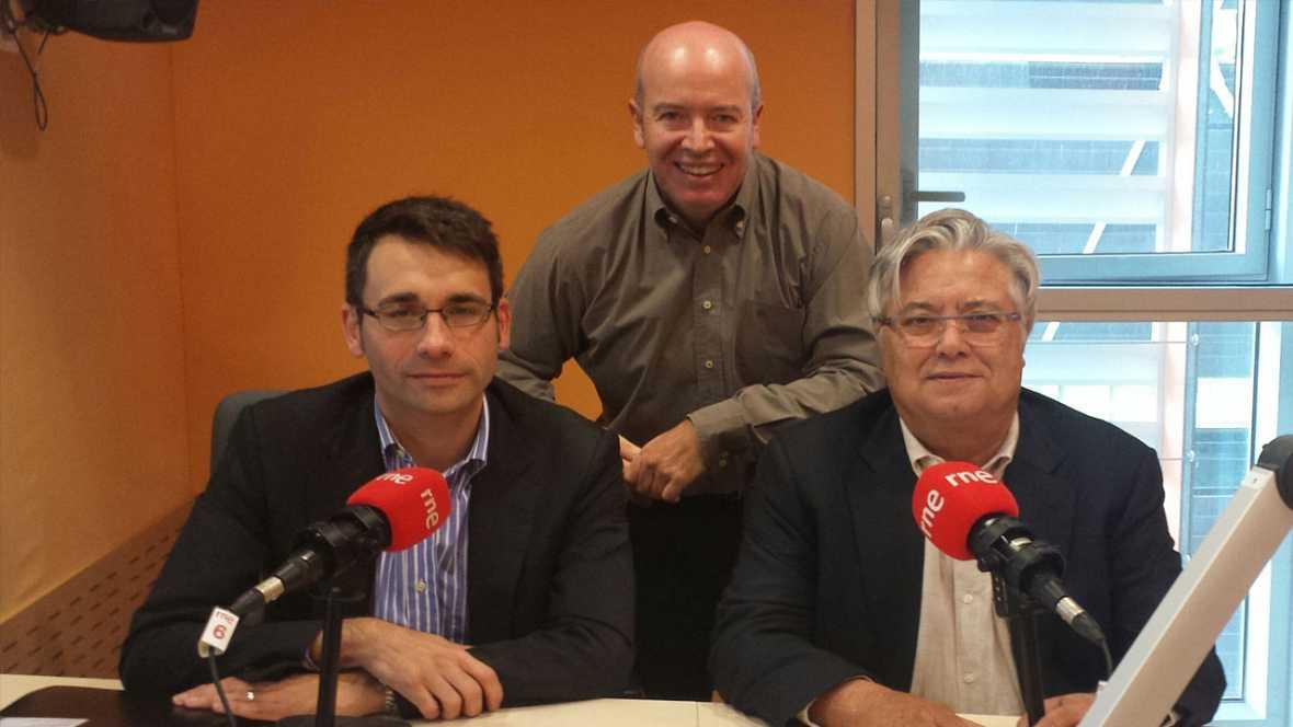 Econ�mix - David Elvira i Jordi Goula tracten l'alentiment del creixement econ�mic a Espanya en el tercer trimestre de l'any
