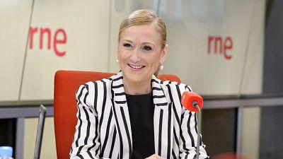 """Radio 5 Actualidad - Cifuentes cree que la reacción del PP a la corrupción fue """"lenta"""" - Escuchar ahora"""