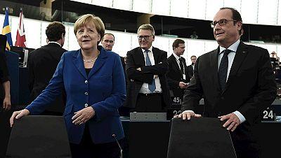 Las mañanas de RNE - Merkel y Hollande alertan del riesgo del nacionalismo - Escuchar ahora
