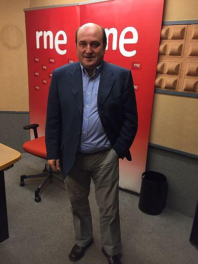 """24 horas - Andoni Ortuzar (PNV): """"El concierto vasco no es ningún privilegio"""" - Escuchar ahora"""