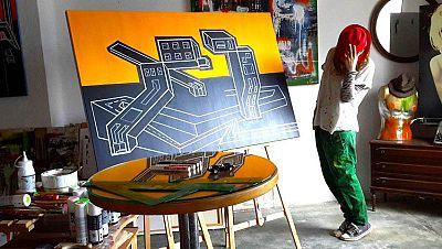 Marca España - Eva Raboso y su arte 'Urban vertical' - Escuchar ahora