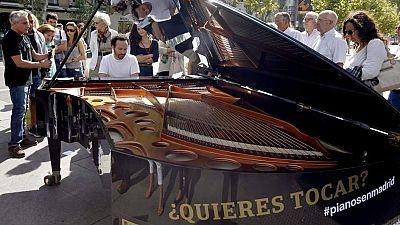Artesfera - Madrid se llena de pianos - 13/10/15 - Escuchar ahora
