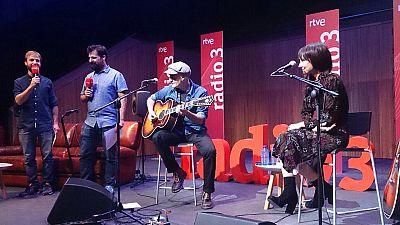Especiales Radio 3 - Amaral presentan 'Nocturnal' en directo - 28/10/15 - Escuchar ahora