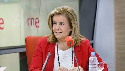 """Las mañanas de RNE - Fátima Báñez: """"Empezamos a hablar de contratos y no de despidos"""" - Escuchar ahora"""