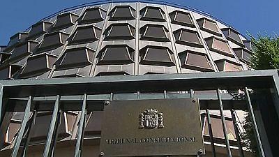 Boletines RNE - Ciudadanos, el PSC y el Partido Popular, juntos ante el Tribunal Constitucional - Escuchar ahora