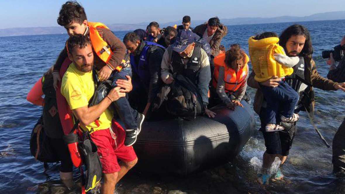 España vuelta y vuelta - Proactiva, socorristas que salvan vidas de refugiados en el mar - Escuchar ahora