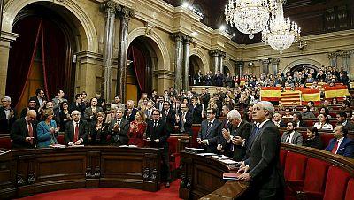 Diario de las 2 - El Parlament aprueba la resolución independentista de Junts pel Sí y la CUP - Escuchar ahora
