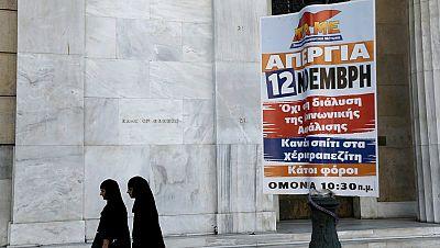 Radio 5 Actualidad - Grecia vive su primera huelga general bajo el mandato de Tsipras - Escuchar ahora