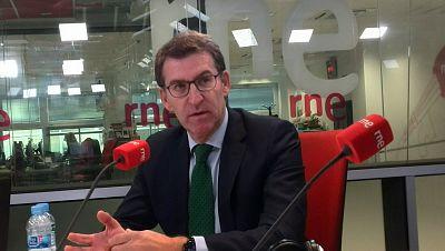 """Las mañanas de RNE - Feijóo: """"Lo único que está consiguiendo Mas es poner en riesgo el autogobierno de Cataluña"""" - Escuchar ahora"""