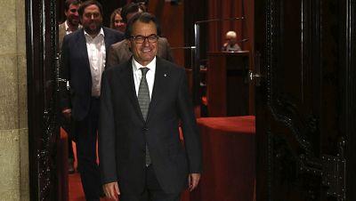 Boletines RNE - Artur Mas dice que seguirá adelante con el proceso independentista - Escuchar ahora