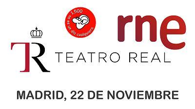 Las cuñas de RNE - 'No es un día cualquiera' celebra sus 1.500 emisiones desde el Teatro Real - Escuchar ahora