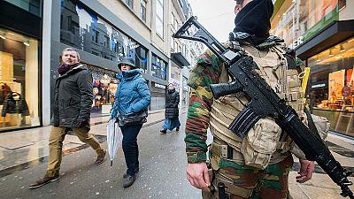 Segundo día de alerta máxima en Bruselas por el riesgo de un atentado