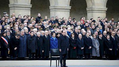 Diario de las 2 - París rinde homenaje a las víctimas de los atentados del 13N - Escuchar ahora