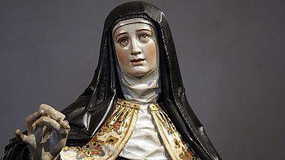 Punto de enlace - 21 artistas internacionales interpretan la vida de Santa Teresa en el museo de Valladolid - 30/11/15 - escuchar ahora